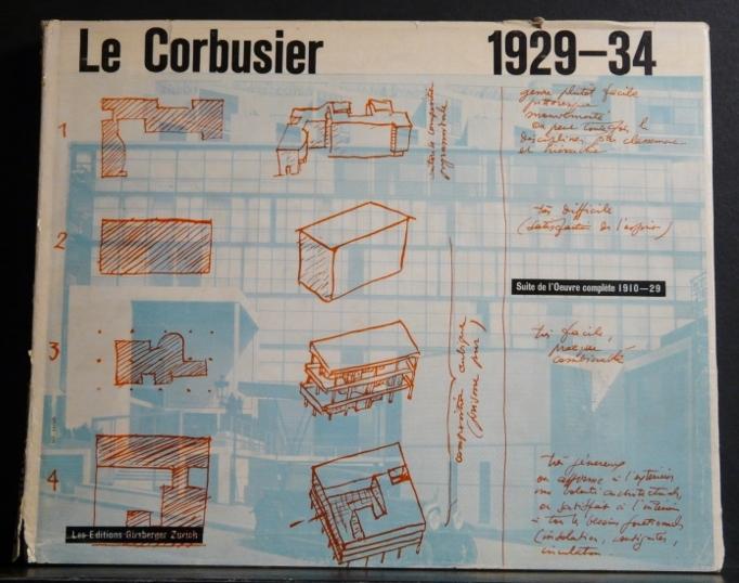 le corbusier et pierre jeanneret oeuvre compl te de 1929 1934. Black Bedroom Furniture Sets. Home Design Ideas